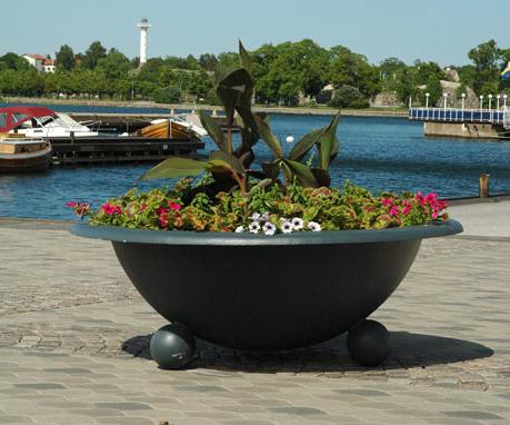 Planteringsurna i glasfiber - Västervik