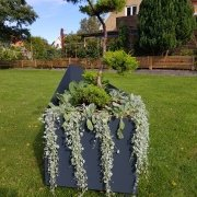 Urna plantering utemiljö mölltorp
